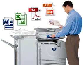 Копіювання та роздруківка на принтері